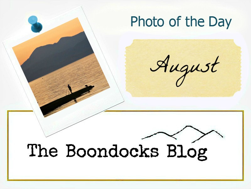 Logo Photo of the Day for August, www.theboondocksblog.com