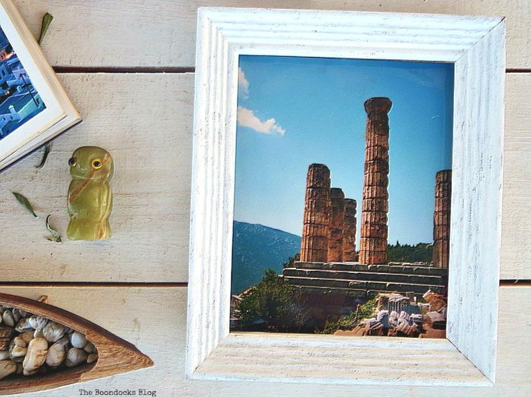 Photograph of Delphi an ancient ruin, What I Love Best about Greece www.theboondocksblog.com
