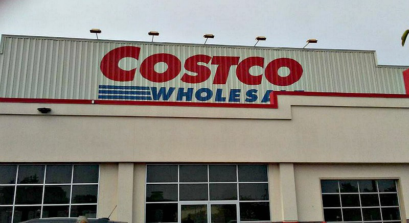 Costco sign, Photo of the Day for October 2017 www.theboondocksblog.com