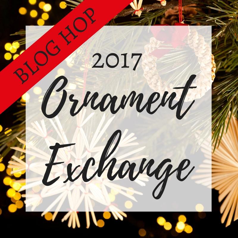 2017 Ornament Exchange Blog hop logo www.theboondocksblog.com