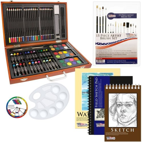 Art Supply Creativity Set, A Practical Gift Guide for the DIYer www.theboondocksblog.com