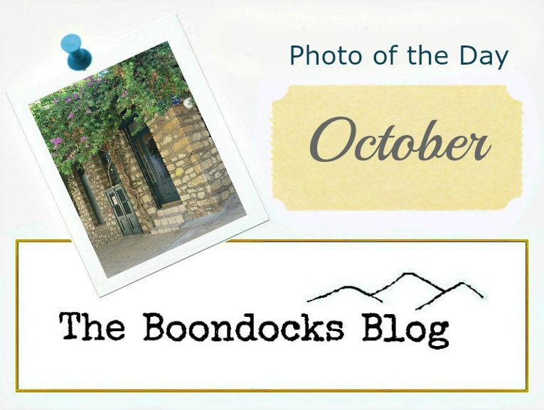 Logo for Photo of the Day theboondocksblog