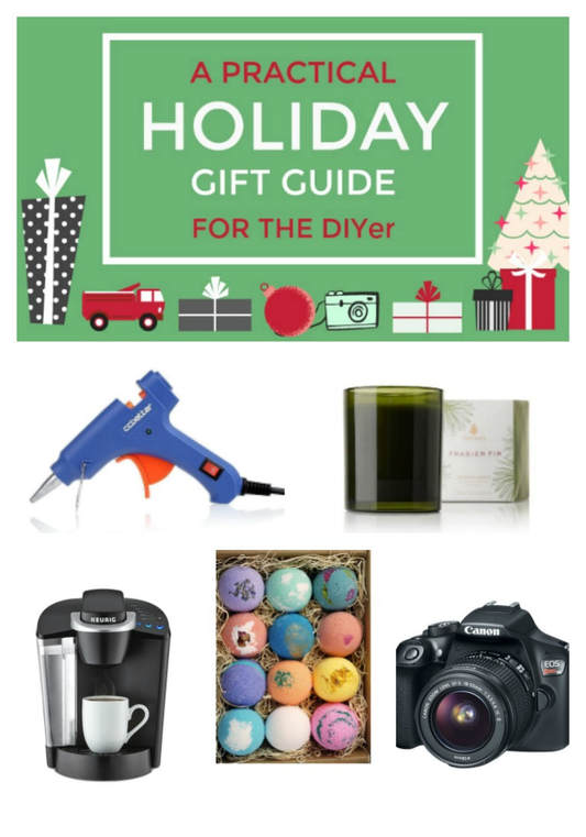 A Practical Gift Guide for the DIYer #GiftGuide #DIYer #PracticalGiftideas www.theboondocksblog.com