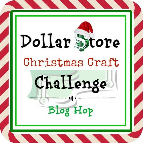 Dollar Store Logo, How to Make a Christmas Craft with Dollar Store Items www.theboondocksblog.com