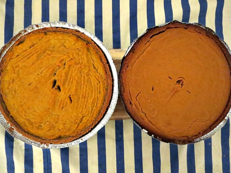 Two pumpkin pies, Photos of the Day for November and December www.theboondocksblog.com