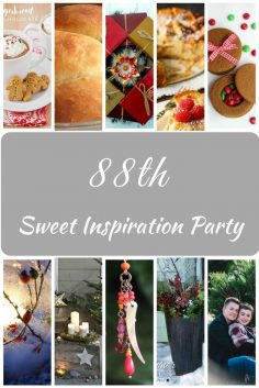 Sweet Inspiration Link Party #88