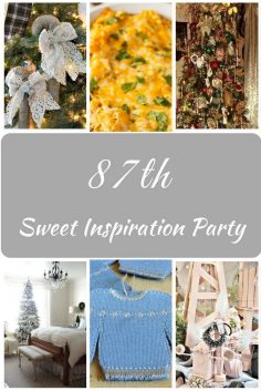 Sweet Inspiration Link Party #87