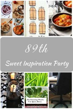 Sweet Inspiration Link Party #89
