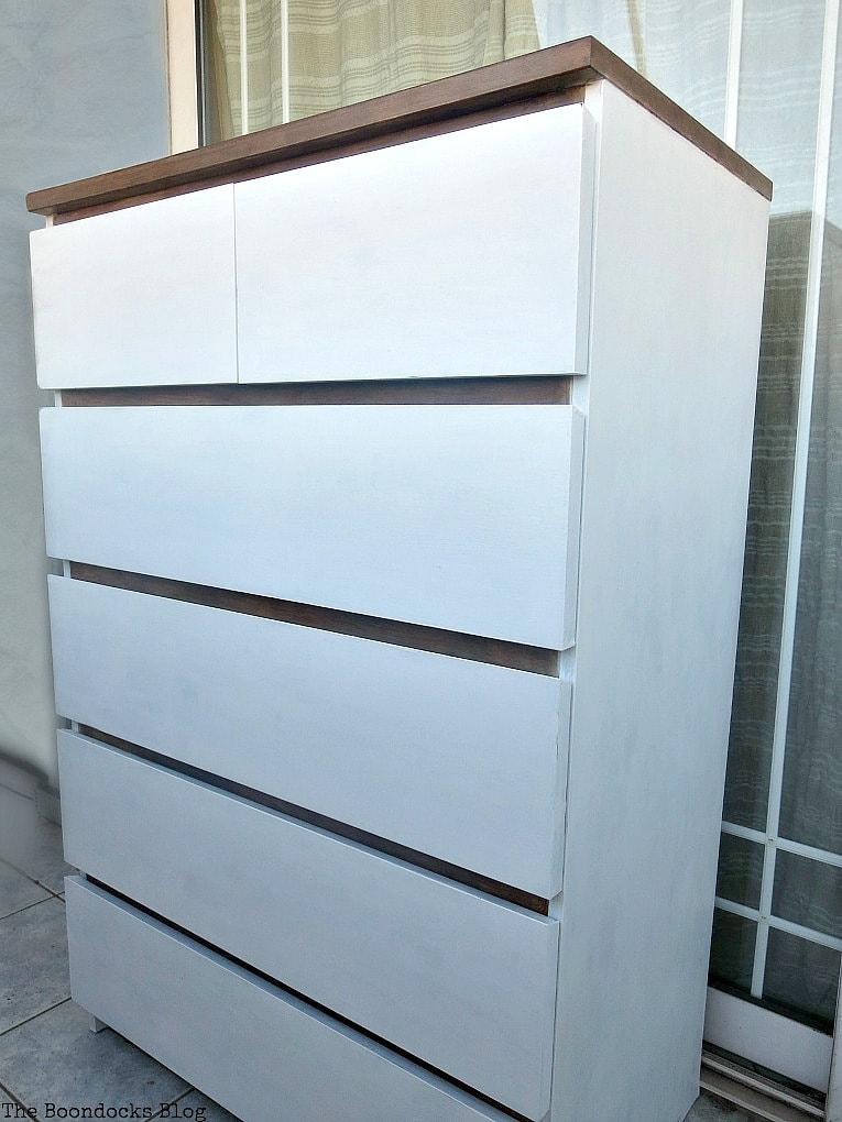 Ikea Malm dresser makeover, The Most Popular DIY Posts for 2017 www.theboondocksblog.com