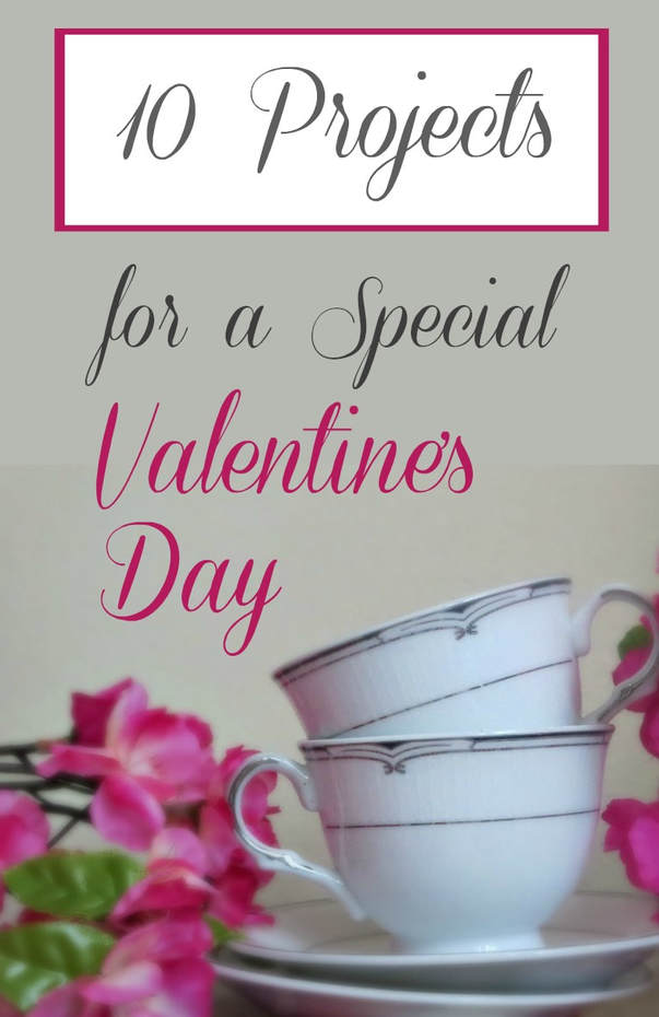 A round up of ten projects and valentine's day crafts.