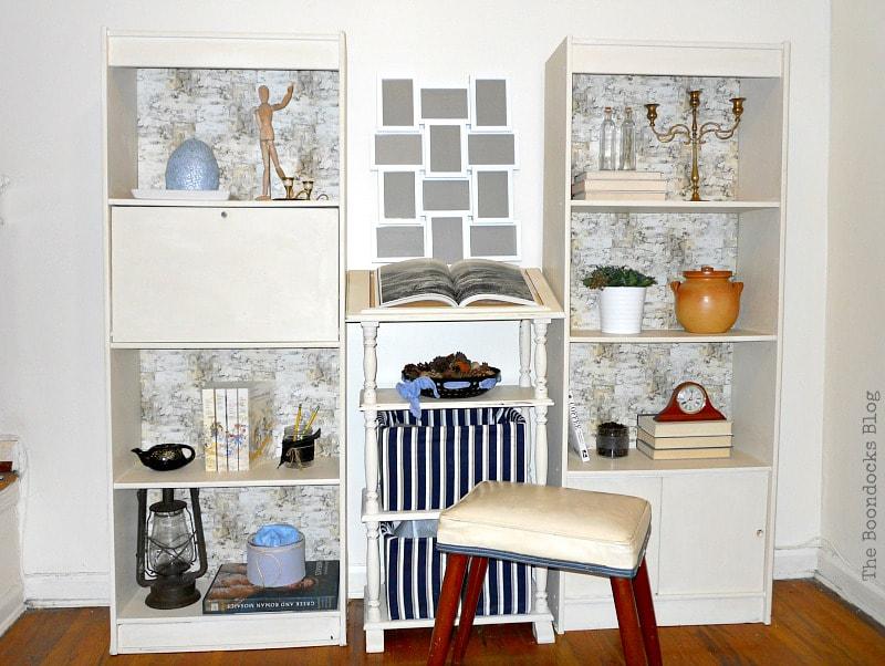 bookcase makeover, The Most Popular DIY Posts for 2017 www.theboondocksblog.com