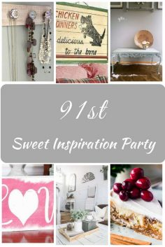 Sweet Inspiration Link Party #91