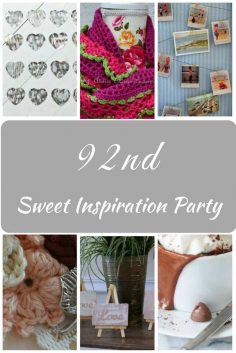 Sweet Inspiration Link Party #92