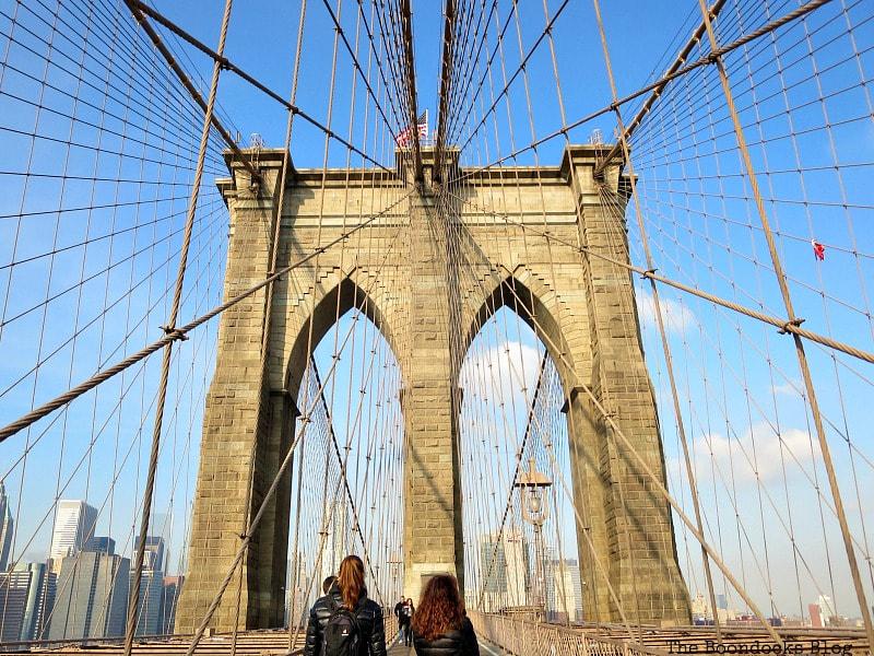 Brooklyn Bridge Towers, A Tour of the Astonishing Brooklyn Bridge Walkway www.theboondocksblog.com