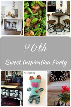Sweet Inspiration Link Party #90