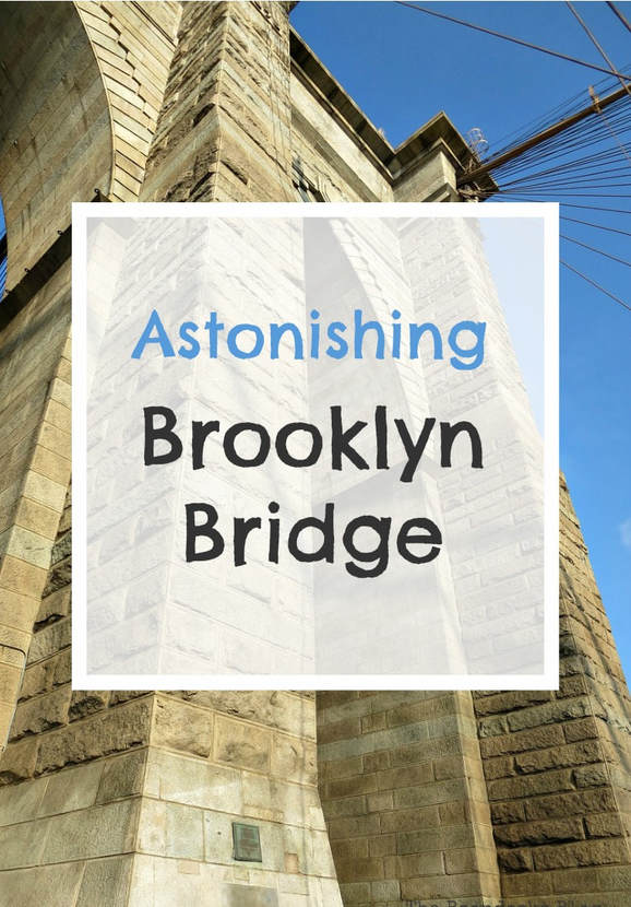 Have you ever walked across the Brooklyn Bridge? Join me as I give a photo essay tour of my walk across the walkway of the Brooklyn Bridge in New York #photography #photoessay #HistoryofBridge #BrooklynBridge #TourofBrooklynBridge #NewYorkCity A Tour of the Astonishing Brooklyn Bridge Walkway www.theboondocksblog.com