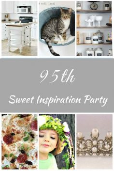Sweet Inspiration Link Party #95 Features