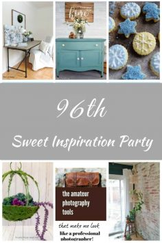 Sweet Inspiration Link Party #96 Features