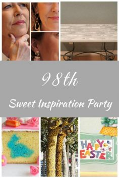 Sweet Inspiration Link Party #98