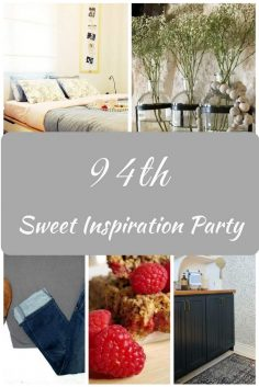 Sweet Inspiration Link Party #94