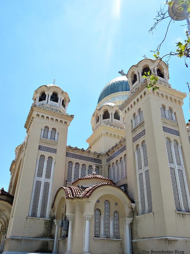 The towers of St. Andrew's Cathedral, Patras Greece, A Spotlight on Impressive Saint Andrew's Cathedral, www.theboondocksblog.com