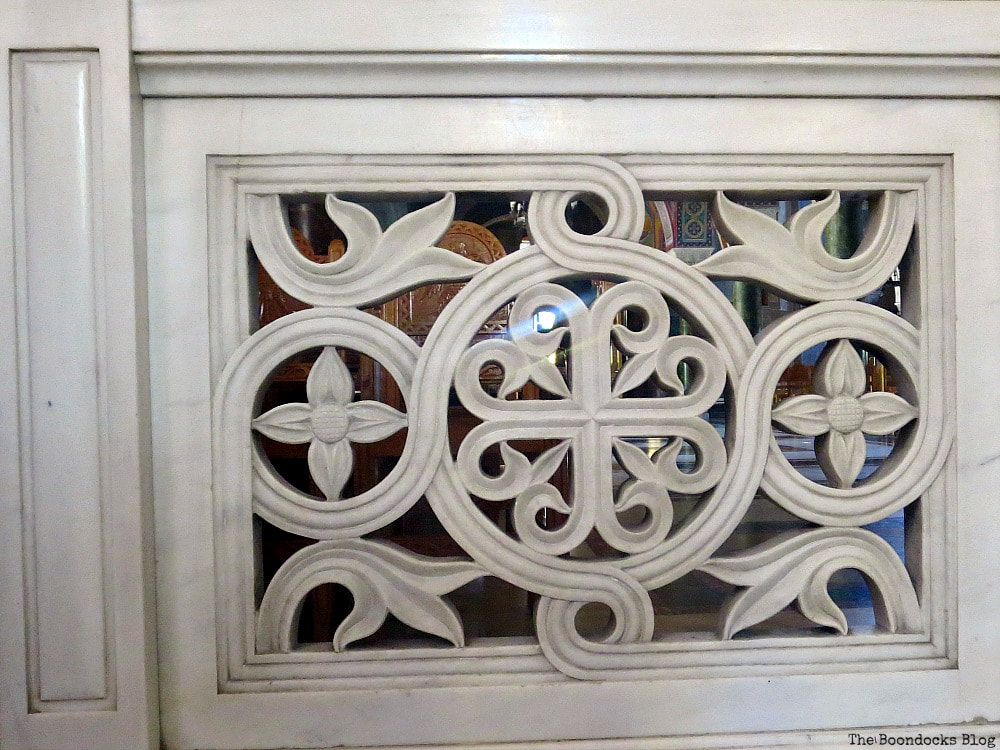 Marble design, Admiring the Interior of Saint Andrew's Cathedral www.theboondocksblog.com