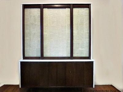 Mid Century Modern Cabinet makeover