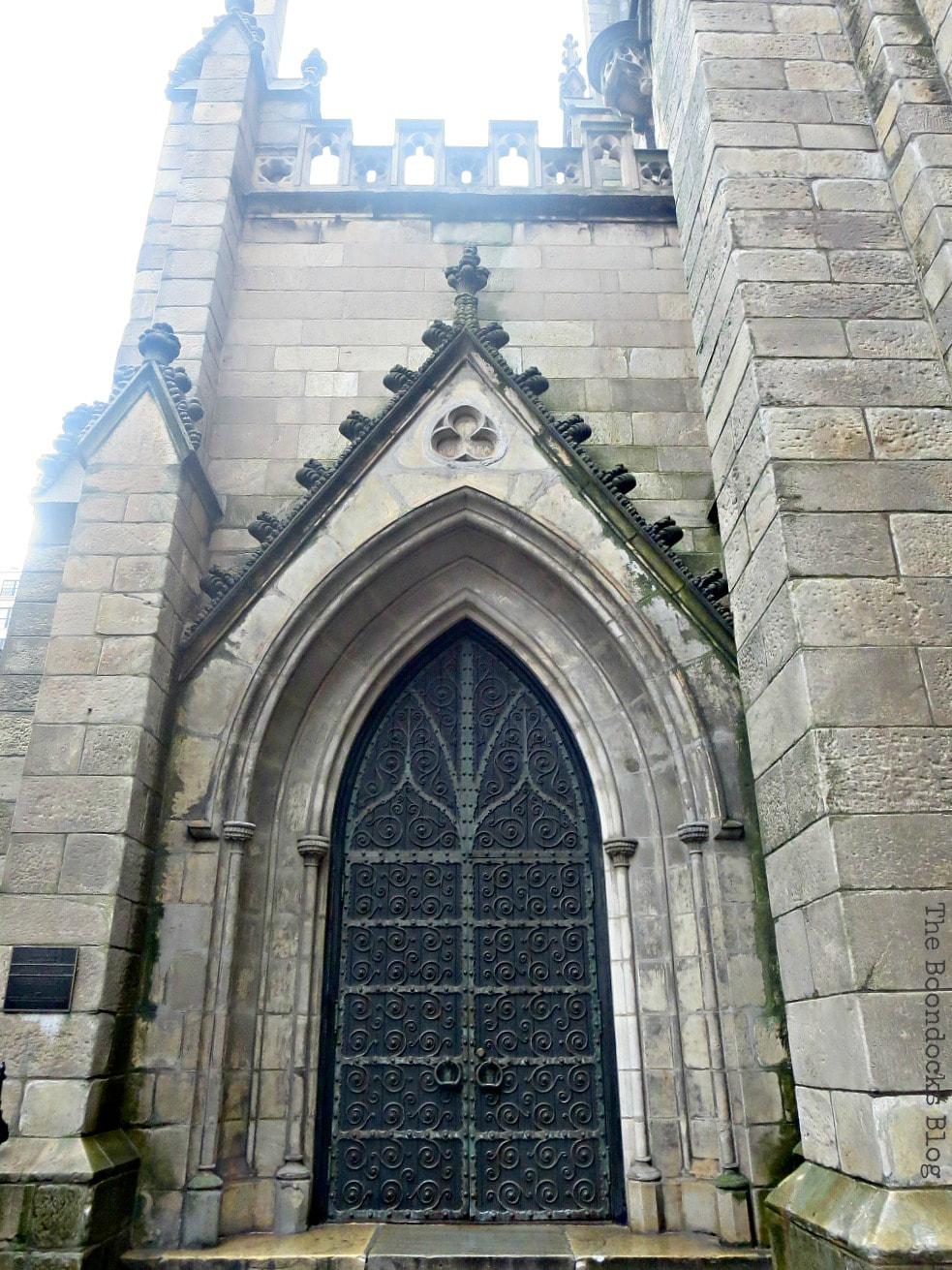 Grace church door, Interesting things to see in Greenwich Village www.theboondocksblog.com