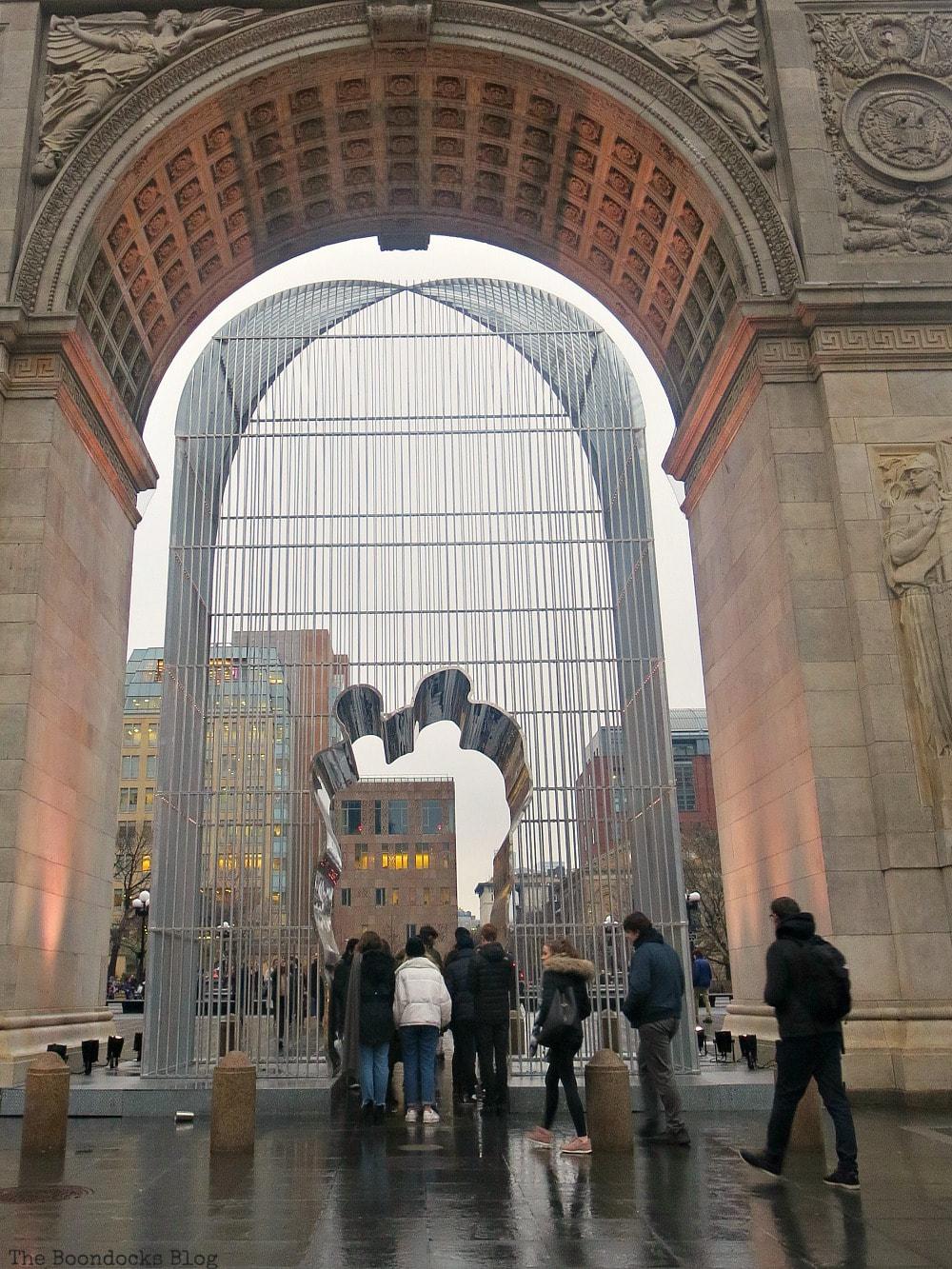 Exhibition by artist Ai Weiwei, #photoessay #Travel #photography #NewYork #Greenwichvillage #NYU #WashingtonSquarePark Interesting things to see in Greenwich Village www.theboondocksblog.com