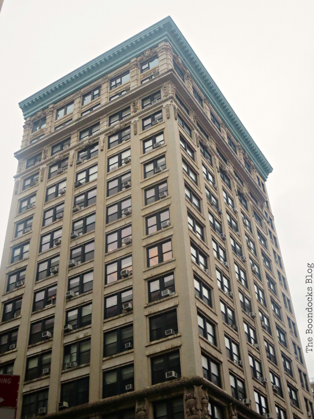 Striking building on Broadway, Interesting things to see in Greenwich Village www.theboondocksblog.com