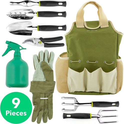 gardening tool set 17 Practical Father's Day Gift Ideas for the Retired Dad www.theboondocksblog.com