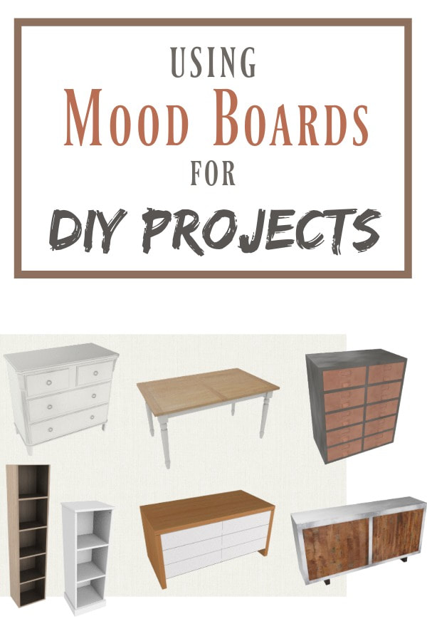 Do you ever struggle to visualize your DIY projects before you create them? Using mood boards to create results for your DIY projects is the way to go, they help you see the whole room even before you have started. #roomplanning #decorating #bedroommoodboard #DIYprojects #Upcycles #MCMfurniture #Midcenturymodern #roomplanning #colorcoordination How to Use a Mood Board to Get Results for DIY projects www.theboondocksblog.com