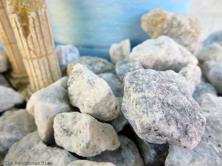 close up of the pebbles, Using Pebbles to Inspire My Love of the Beach www.theboondocksblog.com