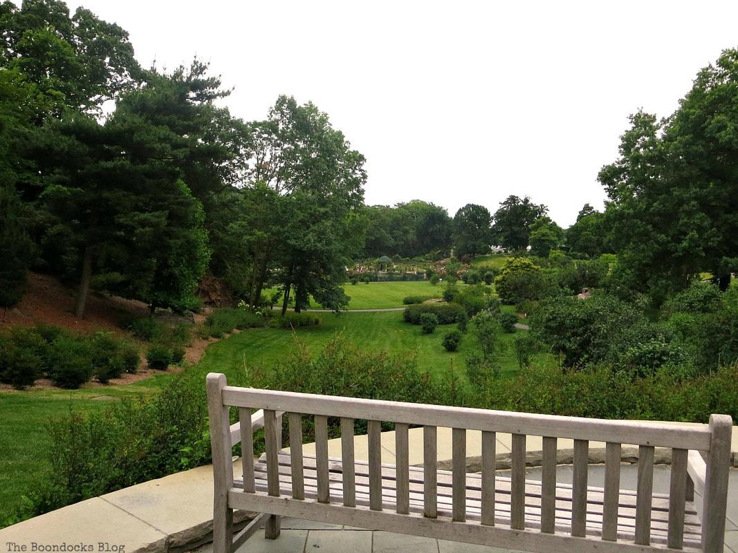 Looking towards the rose garden, The Greatest Botanical Garden in the World, www.theboondocksblog.com