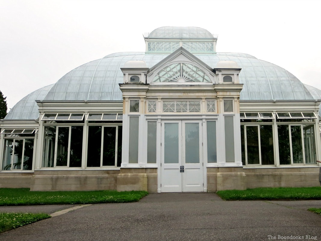 One end of the conservatory, A Visit to the Remarkable Enid A. Haupt Conservatory www.theboondocksblog.com