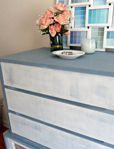 MCM painted furniture