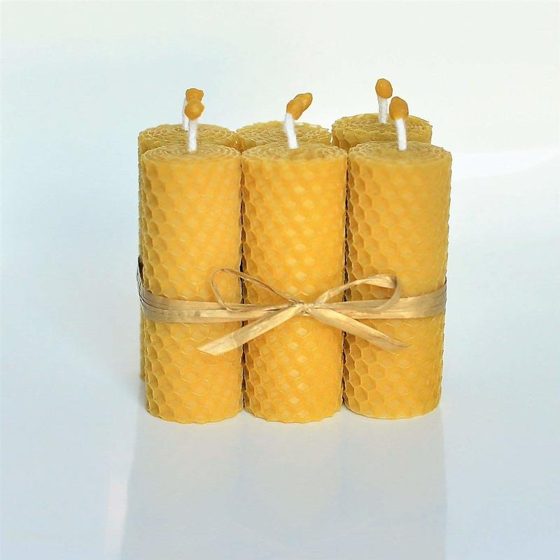 beeswax candles, Ten Amazing Hand-Made Gifts for $10 and Under www.theboondocksblog.com