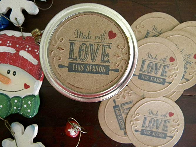 labels for mason jars, Ten Amazing Hand-Made Gifts for $10 and Under www.theboondocksblog.com