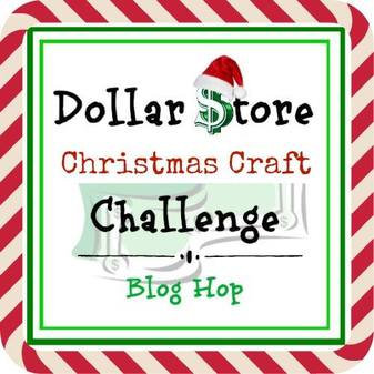 Dollar Store Christmas Craft Challenge logo