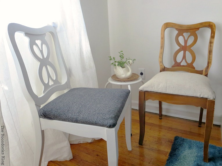 Re-purposed clothes as seat covers, 15 Ways to Re-purpose Old Clothes into Something New www.theboondocksblog.com