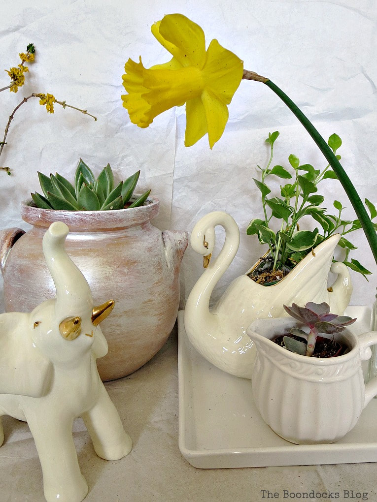 Repurposing household items into planters, The Most Popular Posts for 2018 www.theboondocksblog.com