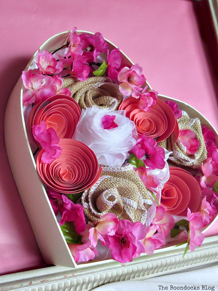 Heart Shaped Valentine's Day Box, The Most Popular Posts for 2018 www.theboondocksblog.com