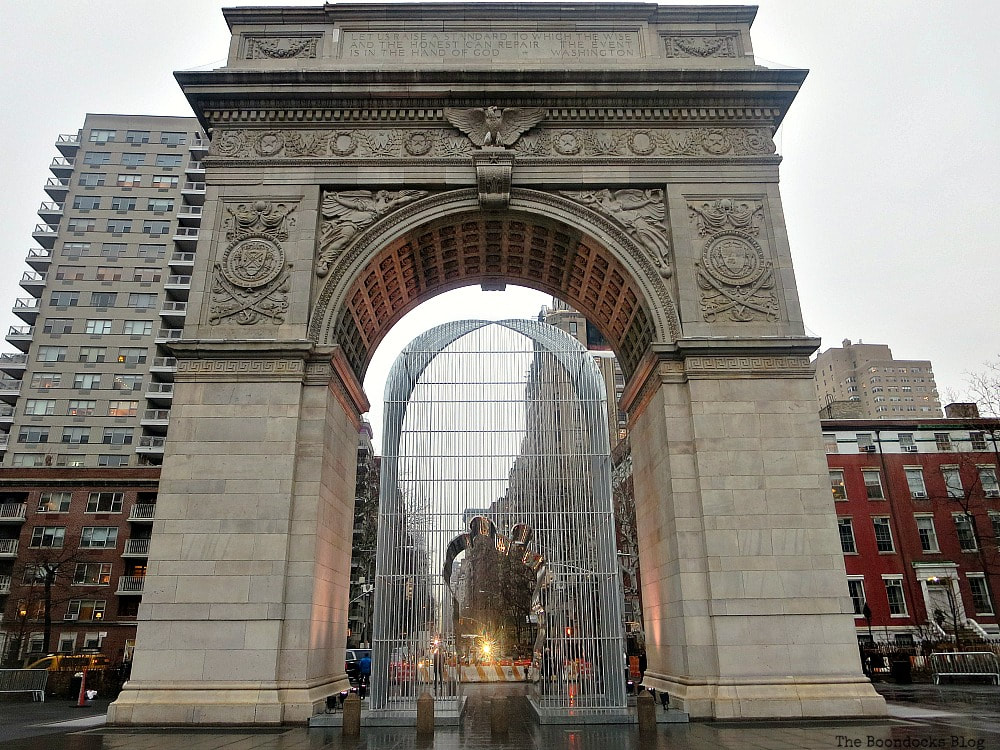 Washington Square Arch at Greenwich Village