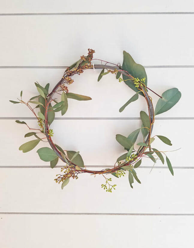 Simple DIY Spring Wreath, 35 Easy Spring Ideas to Inspire You www.theboondocksblog.com
