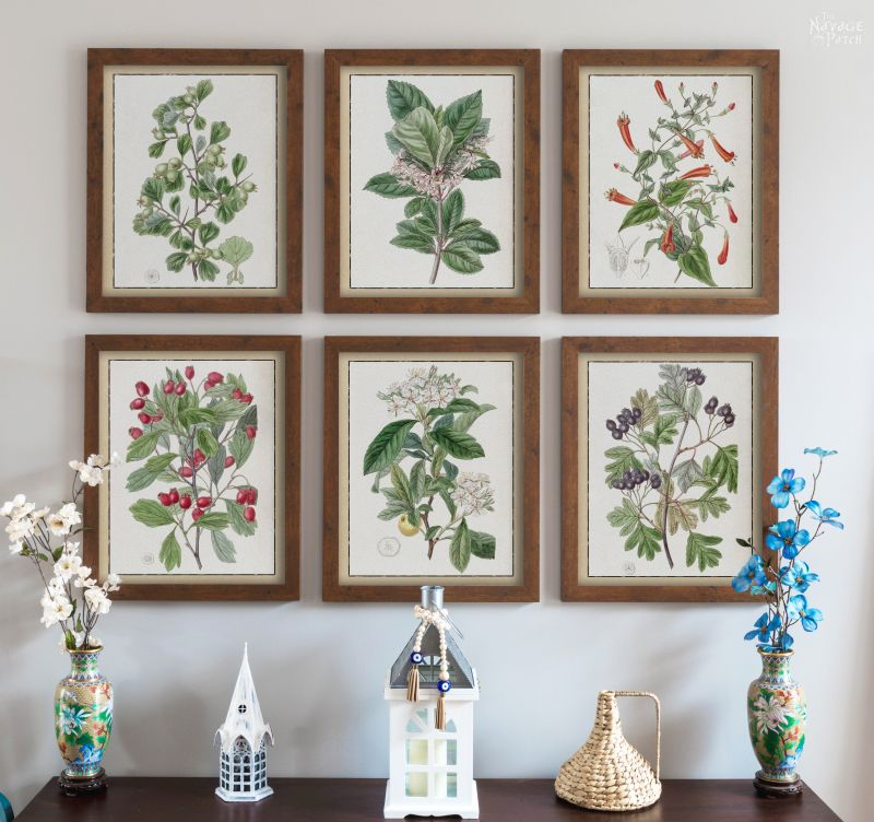 Spring botanical printables, 35 Easy Spring Ideas to Inspire You www.theboondocksblog.com