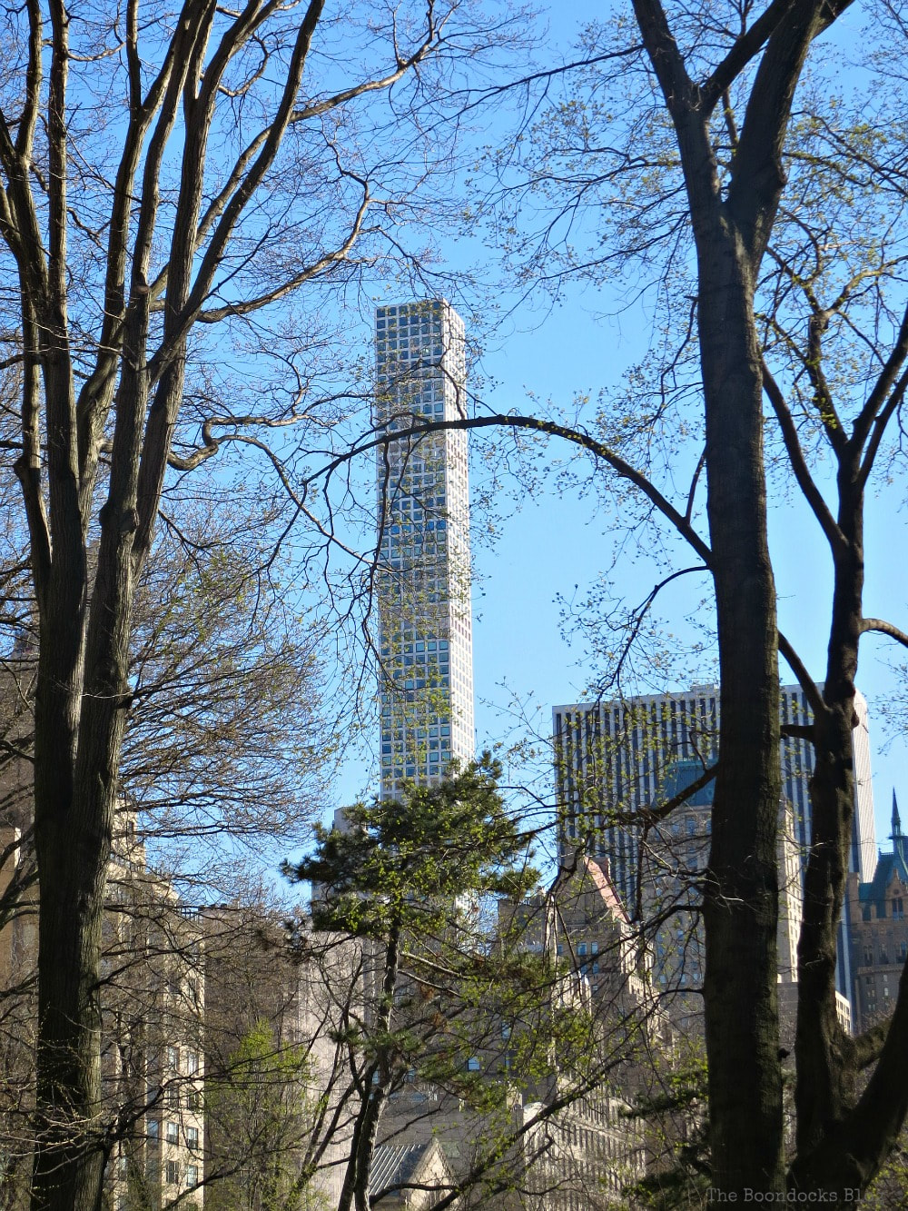 432 Park Avenue viewed from Central Park, Looking Up at Luxurious Buildings in Manhattan www.theboondocksblog.com