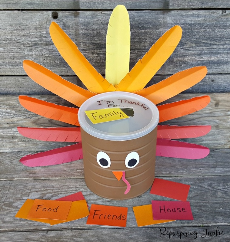 Repurposing Junkie Blessings Holder, 12 Colorful ways to help you prepare for Thanksgiving www.theboondocksblog.com