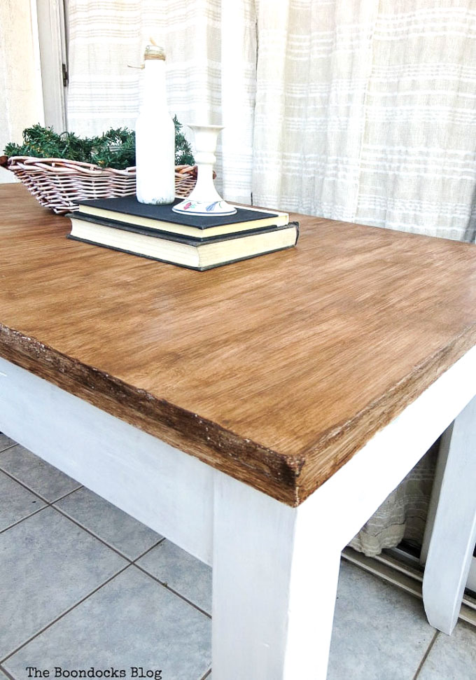 How To Save An Old Laminate Table With Gel Stain The Boondocks Blog